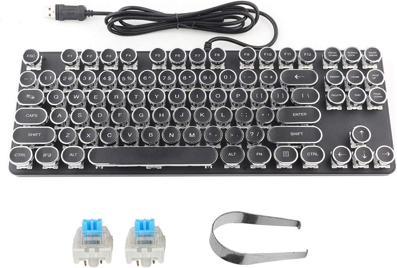 Vbestlife Punk Max 52% OFF Gaming Super sale period limited Wired Compu Mechanical Keyboard