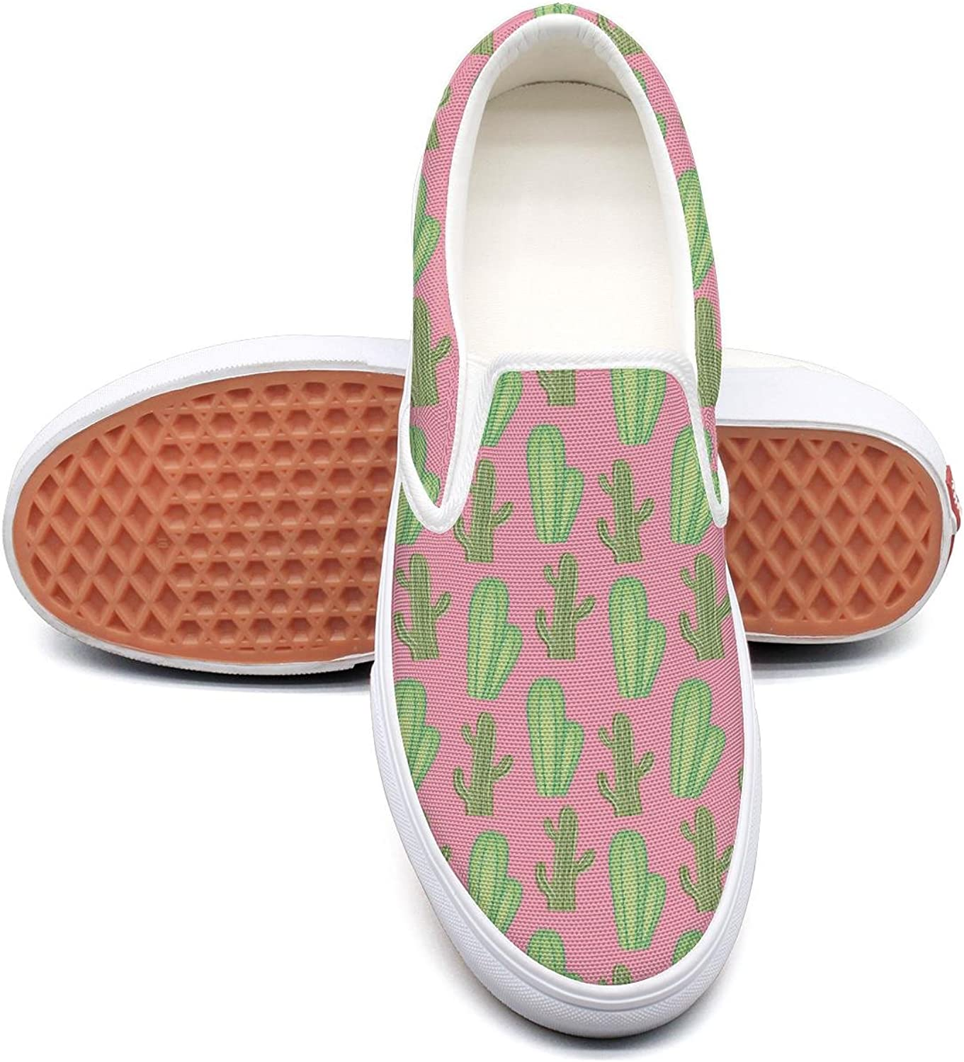 Sernfinjdr Rare Cactus Tall Casual Women's Canvas Slip on shoes Designer Cycling shoes