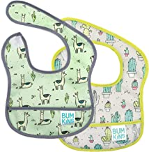 Bumkins Starter Bib, Baby Bib Infant, Waterproof, Washable, Stain and Odor Resistant, 2..