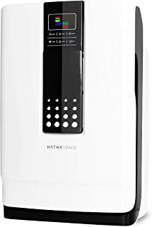 Hathaspace Smart True HEPA Air Purifier for Home, 5-in-1 Large Room Air Cleaner for Allergies, Pets, Asthma, Smokers – Fil...