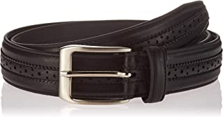 Florsheim Men's Boselli 33mm Dress Casual Leather Belt