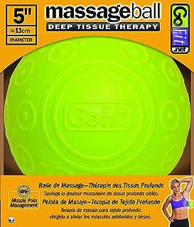 GoFit 5 Inch Massage Ball - Muscle Pain Management