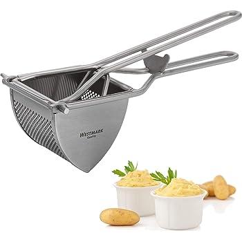 Sp/ätzlepresse Kartoffel P/üree Presse stabil und rostfrei Edelstahl Kartoffelpresse