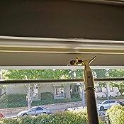 12 X Sash Window Blind Pole Hook Polished Solid Brass