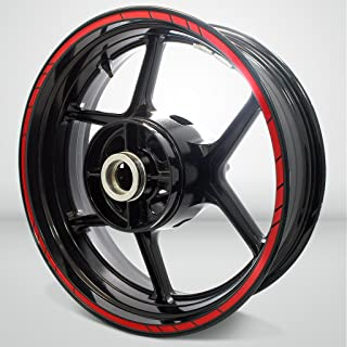Speed Outer Rim Liner Stripe for Yamaha YZF R1 Gloss Red