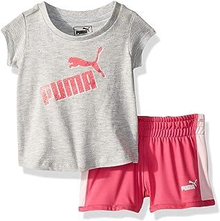 PUMA Baby-Girls Girls' Short Set Shorts Set