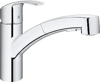 GROHE 30306000 Eurosmart Single-Handle Kitchen Faucet, StarLight Chrome