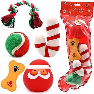 dog christmas toy stockings