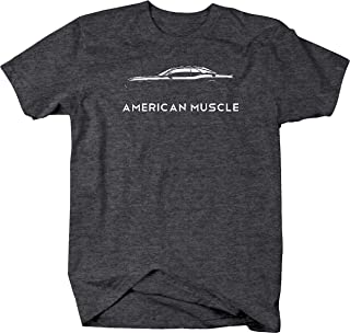 American Muscle for Dodge Charger Challenger Car Hellcat Mens T Shirt
