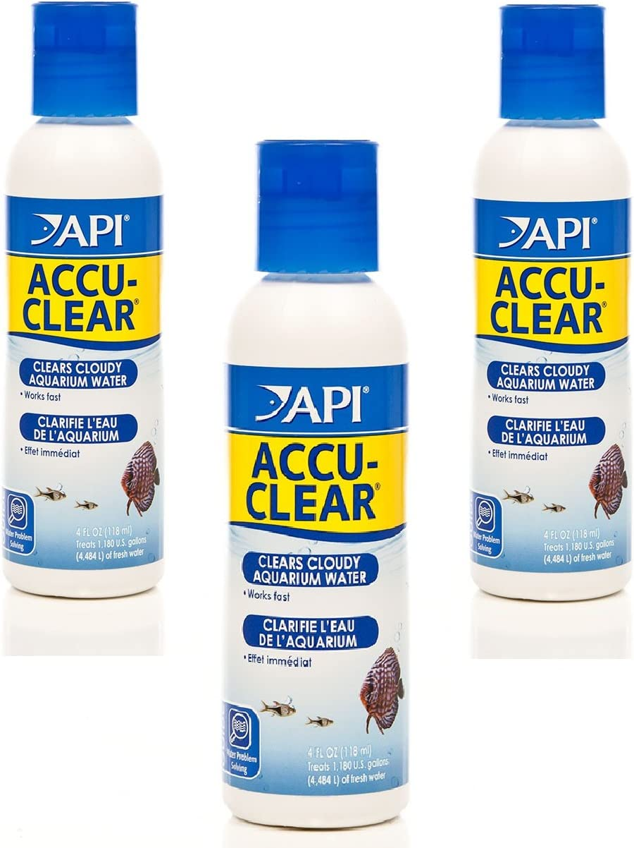 100% quality warranty! 3 Pack API Accu-Clear Water NEW before selling ☆ Each Clarifier 8-Ounces