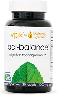Aci-Balance | 30 Herbal Tablets - 1000 mg ea. | Soothes Occasional Acid Indigestion | Fast Acting - No Side Effects