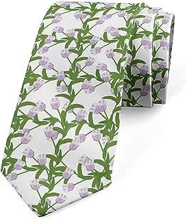 Corbata para hombre, Botánica romántica de jardín de primavera ...