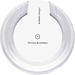 MNTN Wireless Charger Fast Charging 10w/5w QI-Certified Wireless Charger (White) for Apple/Android