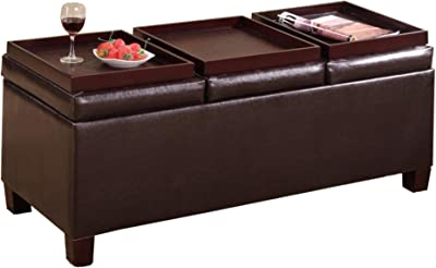 Outstanding Amazon Com Coaster Home Furnishings Storage Ottoman With Bralicious Painted Fabric Chair Ideas Braliciousco