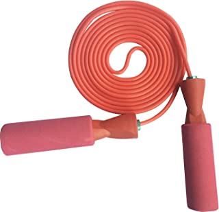 YZLSPORTS Adjustable Jump Rope with Carrying Pouch by Fitness Factor | Ergonomic,..
