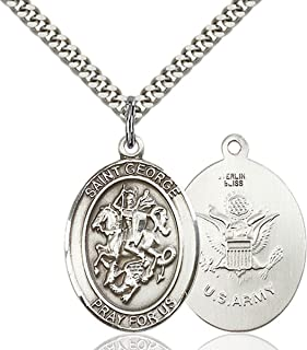 military saint medals