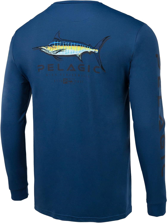 Translated PELAGIC Aquatek Shadowed Marlin Long Fishing Sleeve Shirt Limited price
