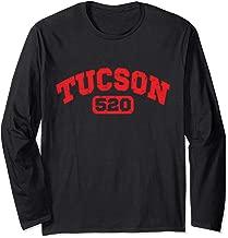 Tucson Arizona 520 Area Code Long Sleeve T-Shirt