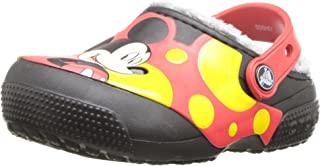 Crocs Kids' Fun Lab Lined Mickey Mouse Clog