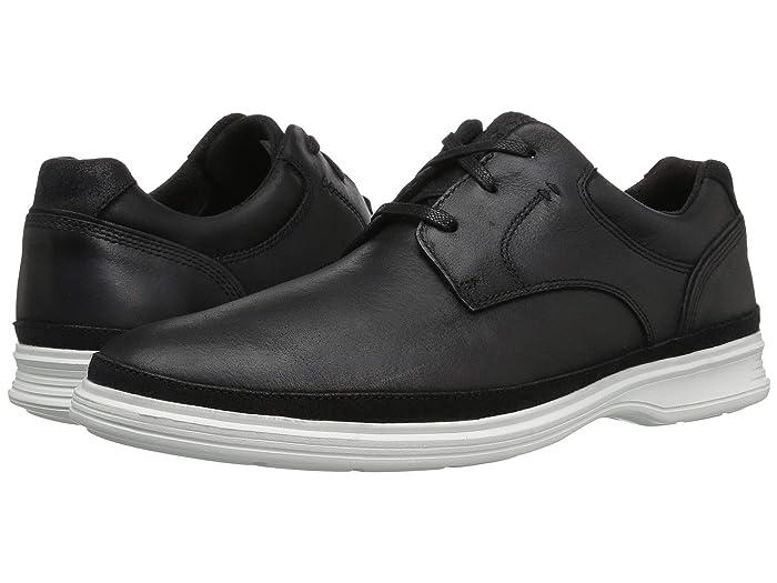 Rockport  DresSports 2 Go Plain Toe (Black) Mens Shoes