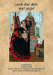 Work That Skirt ATS Style - American Tribal Style Belly Dance Instructional 2 DVD Set (New Release 2016)