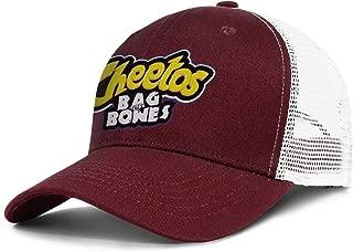 Cheetos Bag of Bones Men Women Snapback Sun Cap Vintage Hat Cotton Hats