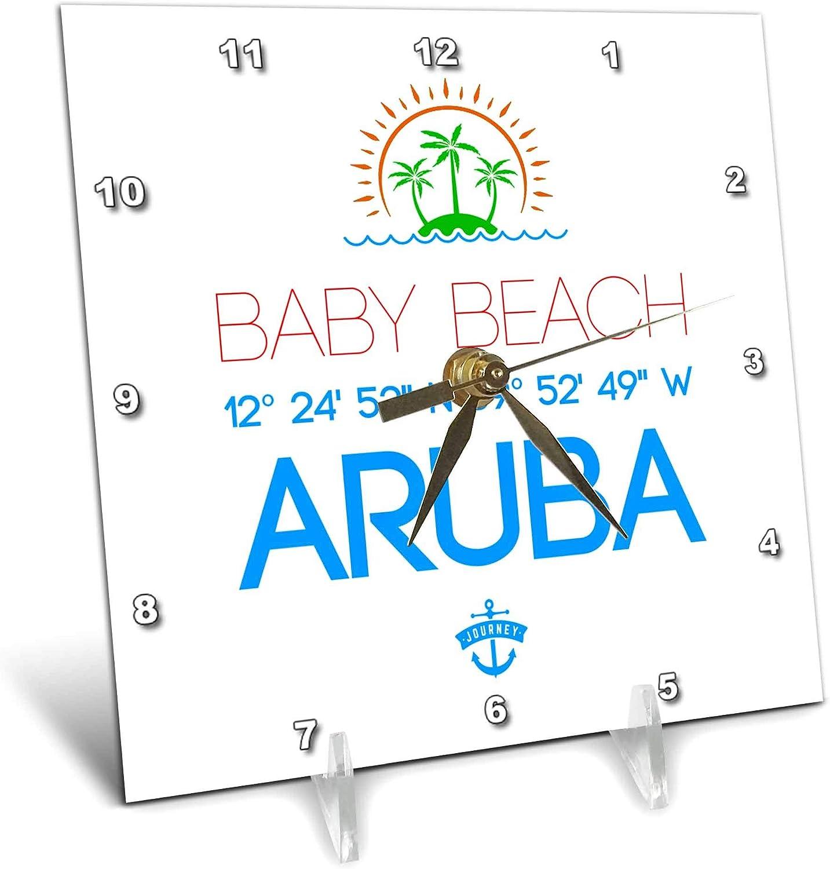 Shipping included 3dRose Alexis Design - Caribbean Cheap mail order specialty store Aru Beaches Aruba Beach Baby