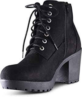Best womens military lace up combat boots Reviews