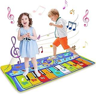 LEADSTAR Juguetes Niños 1 2 3 Años, Alfombra Musical Piano para Niños Alfombrilla de Baile Teclado Estera de Alfombra Touc...