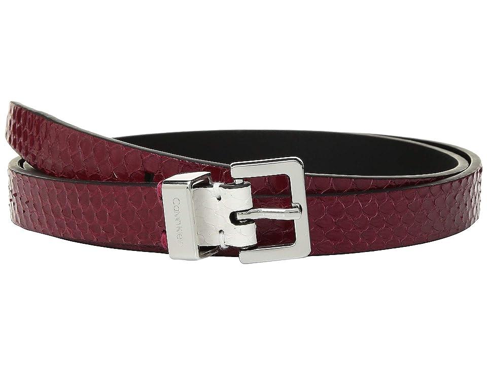 Calvin Klein - Calvin Klein 20 mm Flat Strap Belt