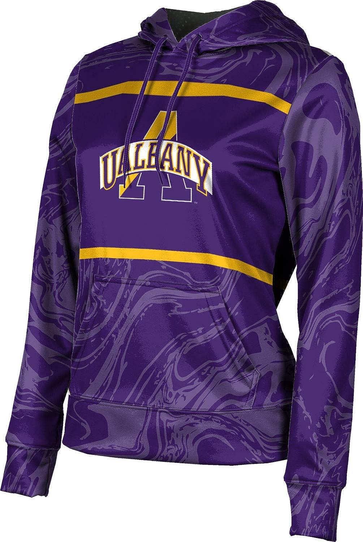 ProSphere University at Albany Girls' Pullover Hoodie, School Spirit Sweatshirt (Ripple)