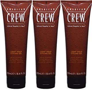 American Crew Light Hold Styling Gel 8.4 oz (Pack of 3)