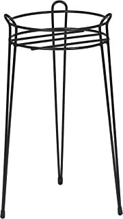 CobraCo S1021B 21-Inch Basic Black Plant Stand S1021-B