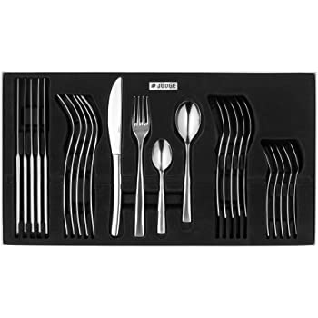 Judge Gift Box Set, 24 Piece, Stainless Steel, Silver