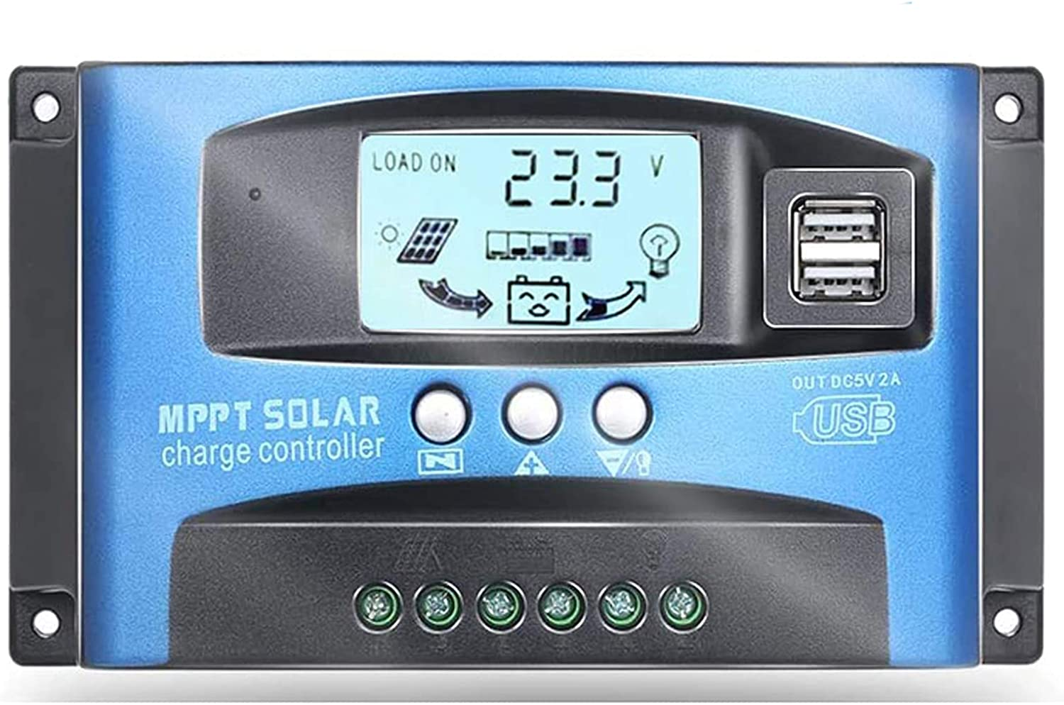 JOJOCY 100A Purchase MPPT 2021 autumn and winter new Solar Charge Controller 60V Auto P 36 48