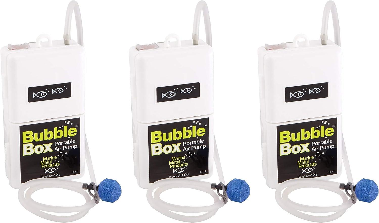 Marine Metal Aeratr Bubble Box 1.5V Four Pack