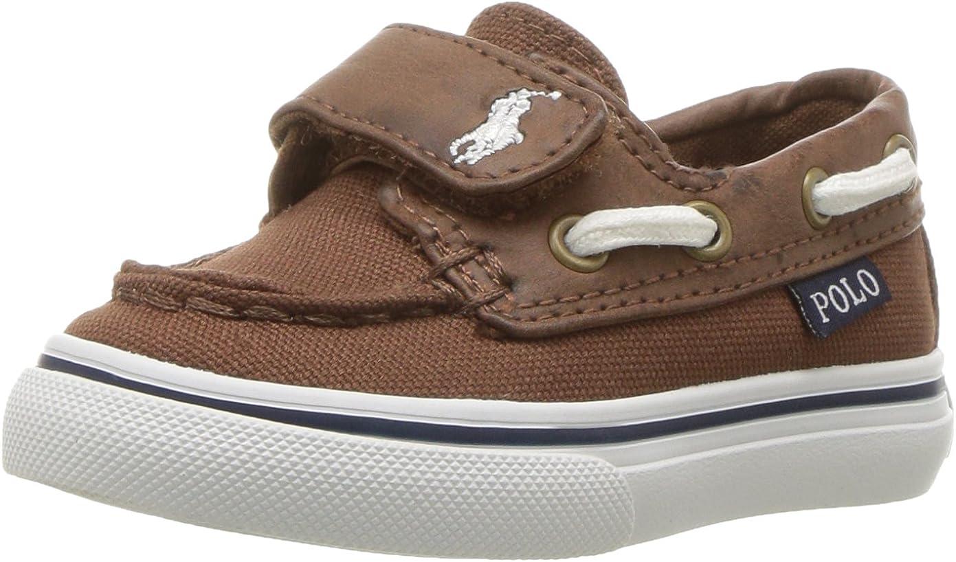 Polo Ralph New sales Lauren Unisex-Child Batten Free Shipping Cheap Bargain Gift Ez Boat Shoe
