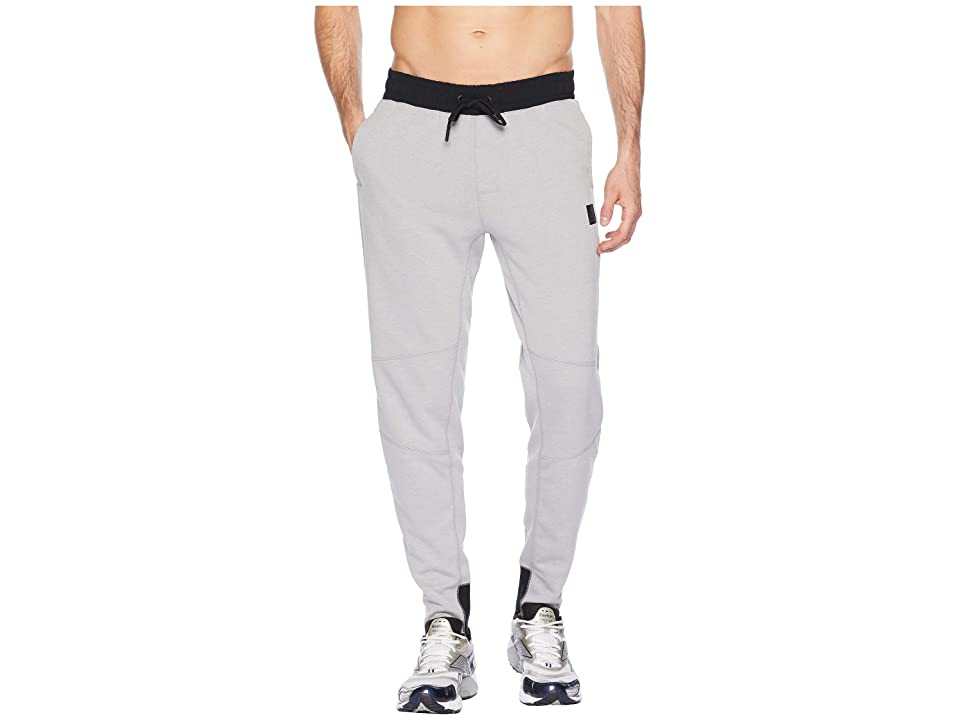 Reebok Training Supply Knit Jogger (Medium Grey Heather/Solid Grey) Men