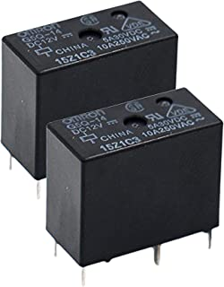 OMRON G5Q-14-DC12 (Pack of 2) Power Relay, SPDT, 12VDC, 10A, PC Board Components