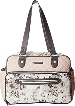 Quilted Tote Diaper Bag