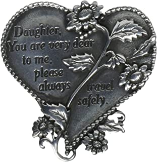 2-3//8-Inch Cathedral Art KVC141DTR Auto Visor Clip Daughter Drive Safely