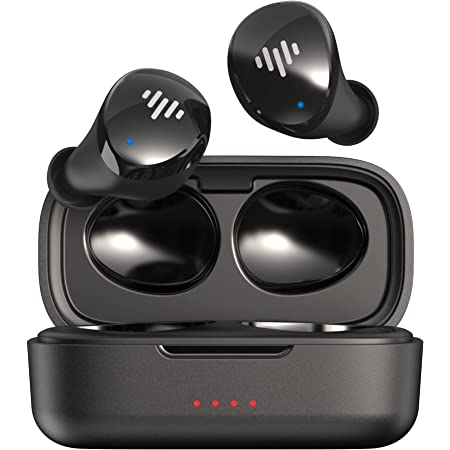iLuv TB100 Wireless Earbuds, Bluetooth in-Ear True Cordless with Hands-Free Call MEMS Microphone IPX6 Waterproof Protection, Includes Compact Charging Case and 4 Ear Tips, Black