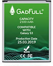 GadFull Battery Compatible with Samsung Galaxy S3 | 2019 Production Date | Corresponds to..