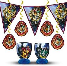 Unique Party 59081 - Harry Potter Party Decoration Kit, Set of 7