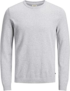 JACK & JONES Jjebasic Knit Crew Neck Noos Felpa Uomo