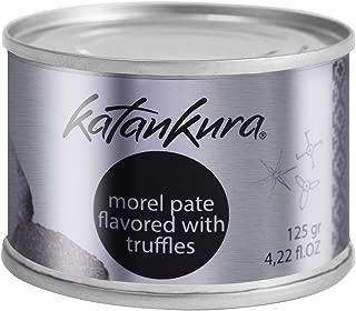 Katankura Morel Mushrooms Pate Flavored with Black Truffle or Port wine 125ml (4.22oz)