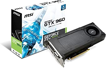 MSI GTX 960 2GD5 Nvidia GeForce GTX 960 2GB GDDR5 PCI Express 3.0 Graphics Card