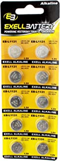 10pk Exell EB-L1131 Alkaline 1.5V Watch Battery Replaces AG10 389 LR54
