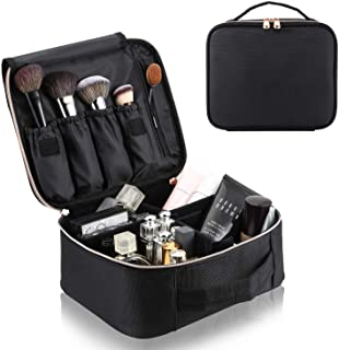 Large Capacity Travel Makeup Bag Cosmetic Organizer Portable Storage Bag for Cosmetics Makeup Brushes, Toiletry &Travel Ac...