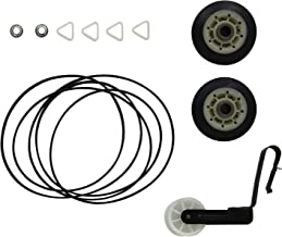 ANTOBLE 4392065 Dryer Kit 341241 Belt, 691366 Idler Pulley & 349241t Drum Rollers for Kenmore Sears Kirkland Roper Dryer